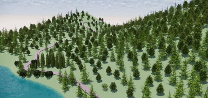 Lands Design יערנות